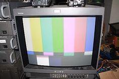 sony trinitron pvm 20m2u 19 crt rgb monitor