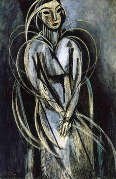 """Madame Yvonne Landsberg via Henri Matisse """