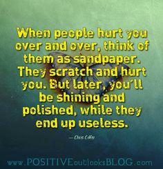 Sandpaper people