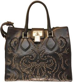Roberto Cavalli Studded Florence bag