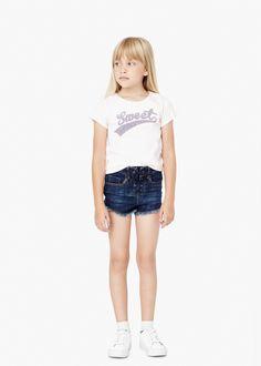 Printed cotton t-shirt - Kids | MANGO