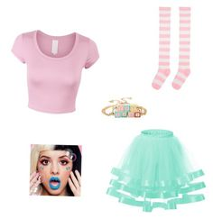 """""""Melanie Martinez"""" by deedee430 ❤ liked on Polyvore featuring Lime Crime"""