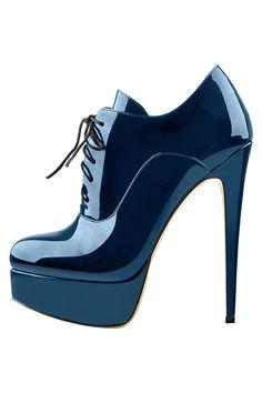 Lace Up High Heels, Super High Heels, High Heel Boots, Heeled Boots, Jane Clothing, Designer High Heels, Black Crystals, Platform Shoes, Blue Shoes