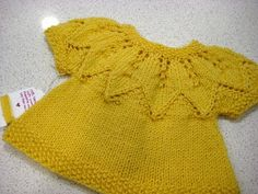 A good friend of mine worked on baby girl sweater using the Autumn Leaves pattern, so I decided to make one as well! Did I mention that the...