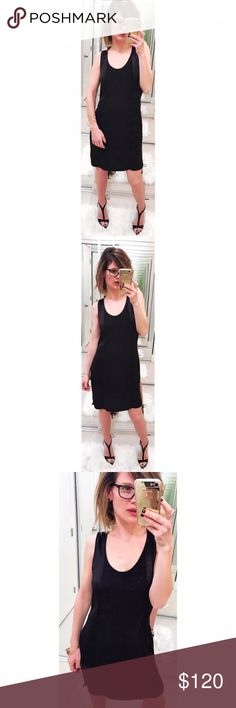 ➡Helmut Lang Zip Back Black Dress⬅ This is a perfect little black dress as is expected from Helmut Lang. Scoop front neckline with satin-like side panels. Exposed zipper in the back that unzips to expose more material and can be worn open as well. 💕Offers welcome. Take 30% off your entire purchase automatically at checkout when you use the bundle feature, or make an offer for your bundle. Happy Poshing!💕 Helmut Lang Dresses