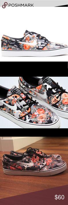 Rare Stefan Janoski Nike SB Hard to find, Nike SB Zoom Stefan Janoski in Mandarin Floral digi-camo. Excellent condition. Nike Shoes Sneakers