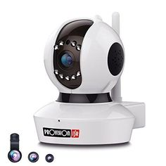 Provision-ISR 1080p HD WIFI Camera (2.0 Megapixel) Pan/Tilt IP Security Surveillance System Baby Monitor Nanny Cam 2 Way Talkback White