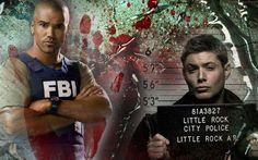 Criminal Minds / Supernatural fanart banner #4 by Miss Piggy