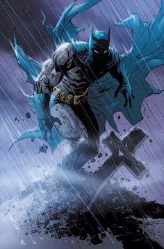 batman-is-me: Batman by Tony S. Daniel in Batman R.I.P