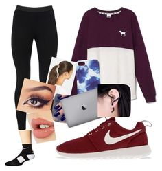 """""""Untitled #16"""" by volleyballer-16 ❤ liked on Polyvore featuring Victoria's Secret, Peace of Cloth, Tasha, Jigsaw, Lottie, Charlotte Tilbury, NIKE, women's clothing, women and female"""
