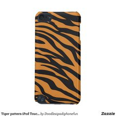 Tiger pattern iPod Touch5g barely there case iPod Touch (5th Generation) Case