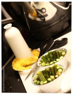 Corona di asparagi Ethnic Recipes, Food, Crown, Meal, Eten, Meals