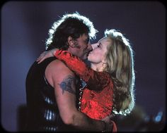 Johnny Hallyday's concert at the 'Parc des Princes' for his birthday in Paris, France on June 1993 - With his former wife Sylvie Vartan. Johnny Halliday, Vartan Sylvie, Jean Philippe, Boss, David, Singer, Couple Photos, Couples, Image
