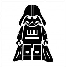 Blocko Darth Vader - Star Wars Vinyl Decal