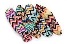 Headbands are HOT! Here are Howard's Chevron Stripe Headbands
