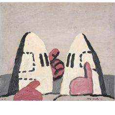 philip guston  untitled, 1972  oil on panel  30,5 X 35,6  Mckee Gallery