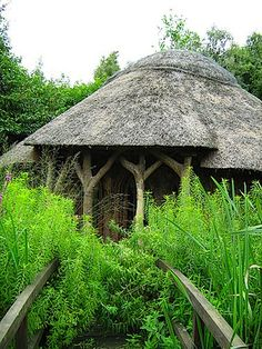 roundhouse ~ so simple ~ part of the landscape