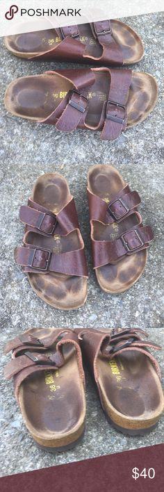 Gorgeous double strap Birkenstock Euc says 36 L5 Birkenstock Shoes Flats & Loafers