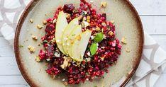 Cooking with Šůša : Pohanka s červenou řepou Acai Bowl, Cooking, Breakfast, Food, Acai Berry Bowl, Kitchen, Morning Coffee, Essen, Meals