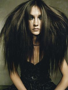 This is how I look in the morning ... #forreal #hair  this looks like she is having a bad day...