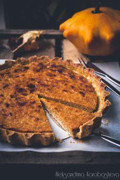 Delicious Pumpkin Spice Pie Recipe (also in English)!