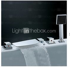 Appliances Contemporary Waterfall Faucets Httphomeypiccom - Contemporary waterfall faucets riflessi from gessi