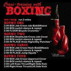 Great Run + Boxing workout!