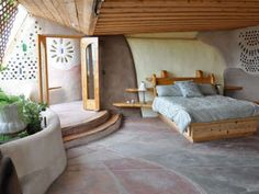 I love the simplicity and airiness of this bedroom.