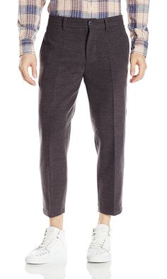 OBEY Men's Latenight City Pant, Heather Charcoal, 28 Best Price