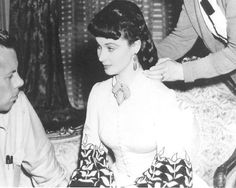 Vivien Leigh Prepares for A Photo Shoot on The Set of Gone with The Wind | eBay