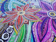 My art :) Pen and drawing with Sharpie and other markers