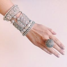 Major Bling! Wild Style, Bangles, Bracelets, Latest Fashion Trends, Jewerly, Cuffs, Arm, Fashion Jewelry, Sparkle