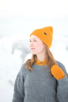 Spring Beanie for Men and Women. Merino Wool beanie is gots and bluesign certified ecological and ethical clothing. Made in Finland. Beanie Outfit, Hiking Outdoor, Ethical Clothing, Outdoor Outfit, Looking For Women, Finland, Sustainable Fashion, Rib Knit, Merino Wool