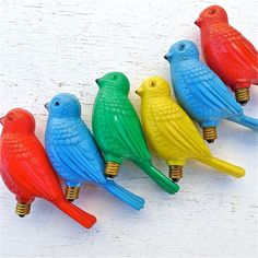 Vintage Bird Figural Light by twolittleowls