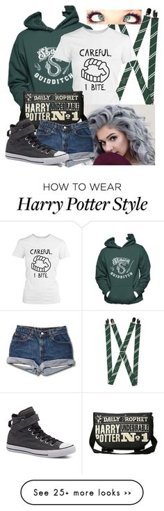 """Untitled #427"" by frizzleliz on Polyvore featuring Converse"