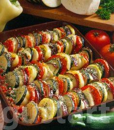 Lajos Mari konyhája - Vegyes nyári rakottas Japanese, Ethnic Recipes, Food, Japanese Language, Essen, Yemek, Meals