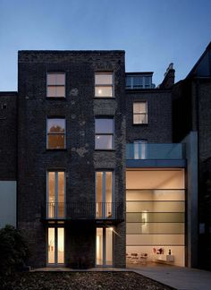 A renovated Victorian townhouse located in Kensington, West London by Paul+O Architects, a London-based firm.