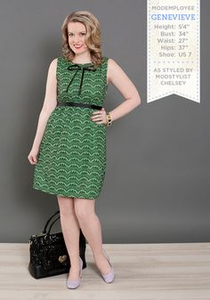 Tulle Clothing Break Into a Scallop Dress - ModCloth.com