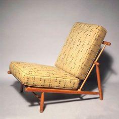 Alf Svensson; Beech Easy Chair for Dux, c1952.