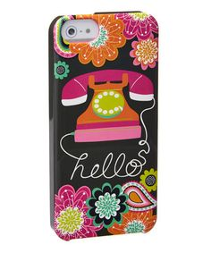 Look what I found on #zulily! Ziggy Zinnia Whimsy Snap-On Case for iPhone 5/5s #zulilyfinds