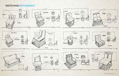 Novo   Minimalist Sofa on Behance.