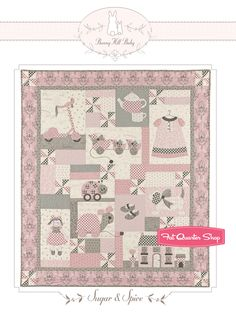 Sugar and Spice Quilt Pattern Bunny Hill Designs by Anne Sutton - Fat Quarter Shop