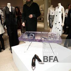 Prickles Table at MAX MARA Celebrates Encased: A Solo Exhibition by Sasha Sykes. #BFAnyc