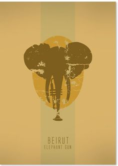 Beirut i love music posters - patriciapovoadesigns
