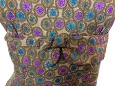 Vintage 1960s Brown Wiggle Dress  Doris by InTheRoughFashion