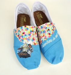 marissaetwaroo's save of Disney Up Inspired TOMS on Wanelo