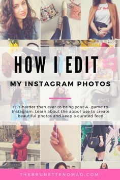 How I edit my Instagram pictures and create a curated feed | Dallas fashion blogger