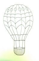 Deep Space Sparkle – How to draw a hot air balloon