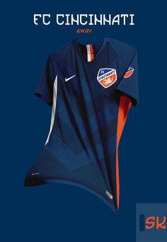 Tremendous - 48 Unique Nike MLS Concept Kits By Santi Kits - Footy Headlines Sport Shirt Design, Sports Jersey Design, Shirt Print Design, Sport T Shirt, Shirt Designs, Jersey Designs, Nike Football Kits, Football Usa, Football Design