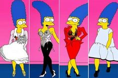 Marge Simpson modella per Vogue